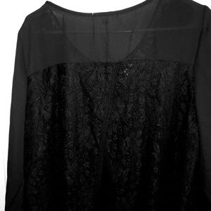 💟Hollywood lace sheer Blouse 💟